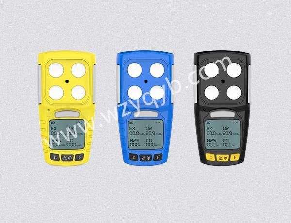 便携式气体检测仪多组分